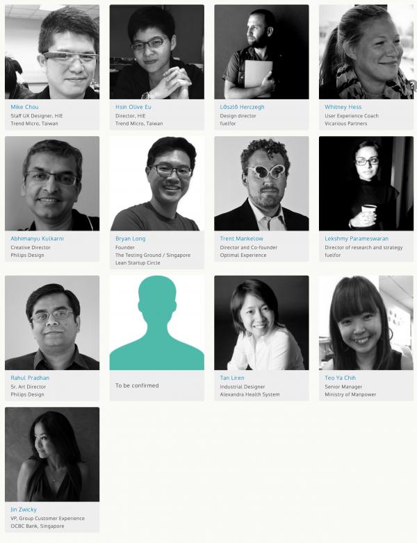 Speakers   UXSG