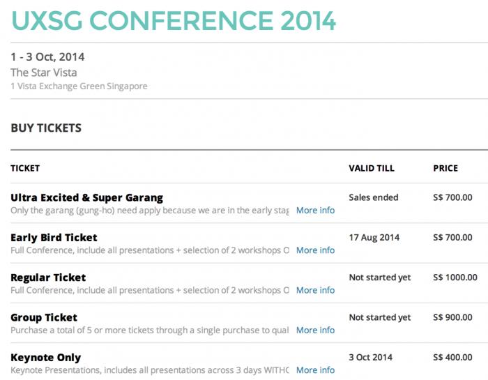 UXSG Conference 2014 ● GEVME